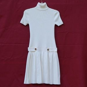 Moda International Woman's Winter White Dress